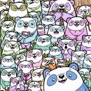 party_pandas_spoonflower