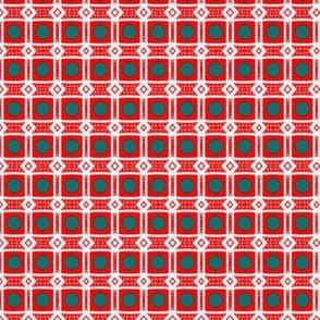 Retro Day-diamonds & dots
