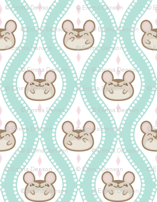 Diamond_mice_small_Turquoise