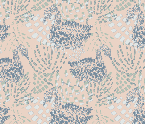 Swany fabric by sarahjanke on Spoonflower - custom fabric