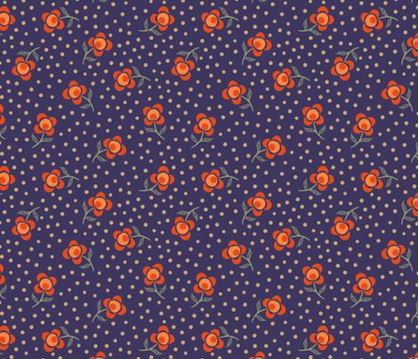 Ophelia  fabric by byre_wilde on Spoonflower - custom fabric