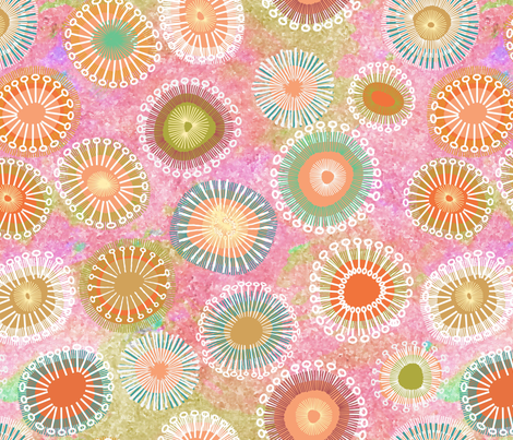 Modern Boho fabric by vo_aka_virginiao on Spoonflower - custom fabric