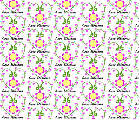 love_blossoms fabric by ottawa-valley-inspirations on Spoonflower - custom fabric