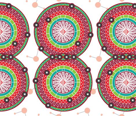 Diatomic fabric by ravenous on Spoonflower - custom fabric