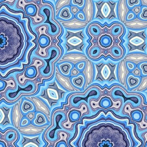 Kaleidoscope Bohemian - Blues