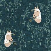 Rrhorse_-_floral_-navy-linen_shop_thumb