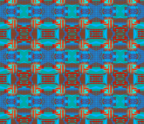 Bohemian Maze fabric by krussimages on Spoonflower - custom fabric