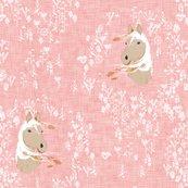 Rrhorse_-_floral_-pink2-linen_shop_thumb