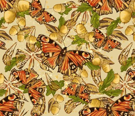 Autumn Blend fabric by ravens_spirit_song on Spoonflower - custom fabric