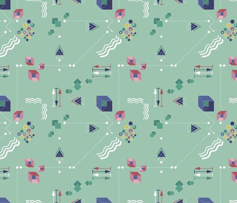 Memphis arrp fabric by arrpdesign on Spoonflower - custom fabric