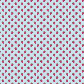 afternoon tea - strawberries