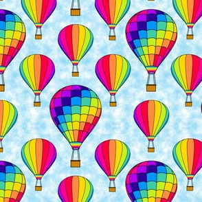 Hot Air Balloon Rainbow