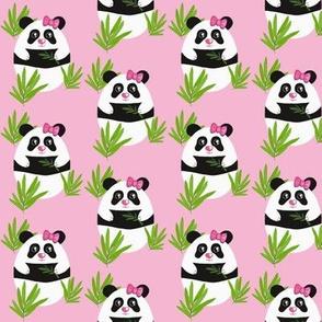 Meditation Panda Pink smaller