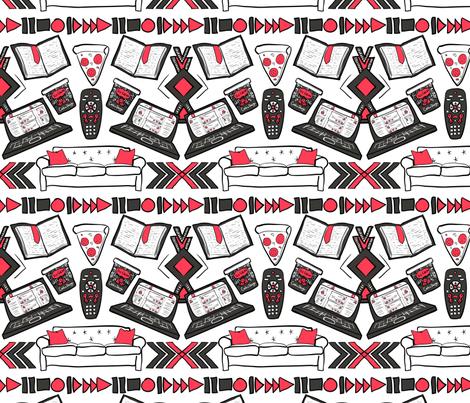 Boho FOMO (Light) fabric by stacy_bias on Spoonflower - custom fabric