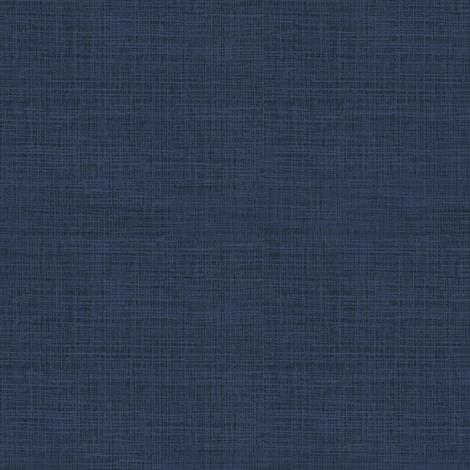 Linen, Blue Denim fabric by thistleandfox on Spoonflower - custom fabric