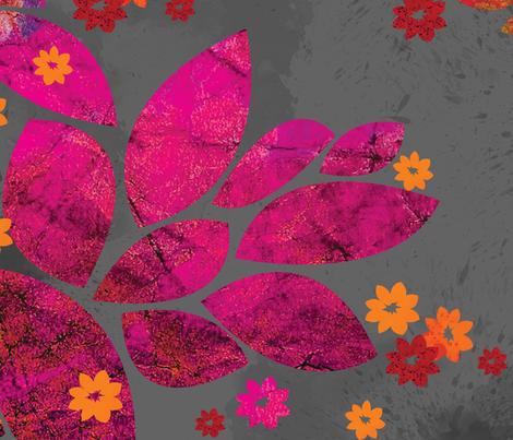 Bohemian_Beauty fabric by flyinglizard on Spoonflower - custom fabric