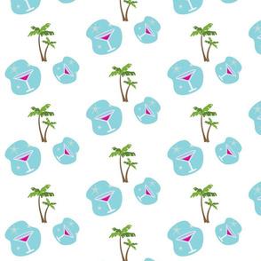 Blue Tropics Fizz