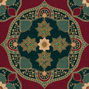 Bohemian Medallion {Velvet}