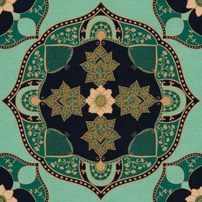 Bohemian Medallion {Turquoise}