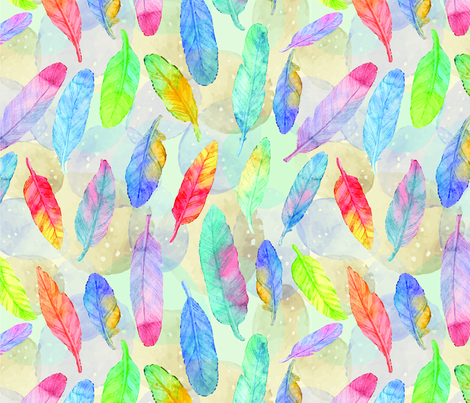 Dream Weaver  fabric by michelle_price_designs on Spoonflower - custom fabric