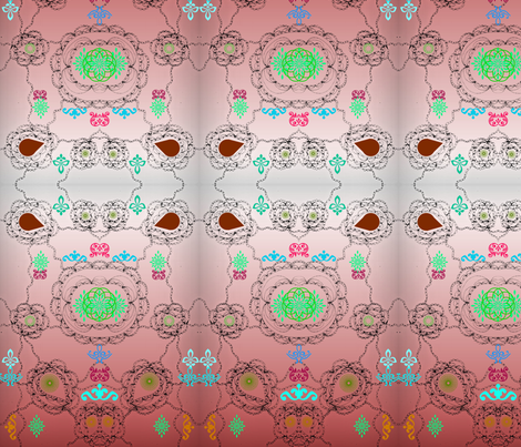 Bohemian Delight  fabric by bent_line_designs on Spoonflower - custom fabric
