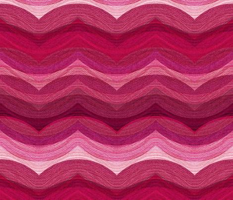 Painted Hills - rose fabric by ormolu on Spoonflower - custom fabric
