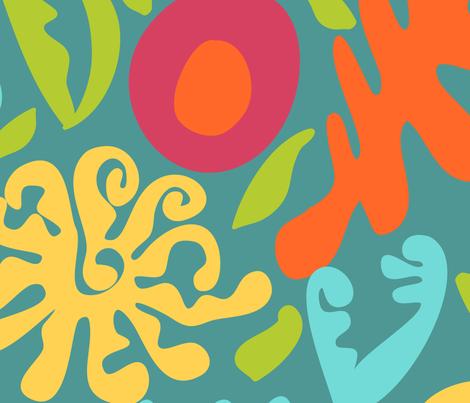 Free Flow fabric by julie_thibault on Spoonflower - custom fabric