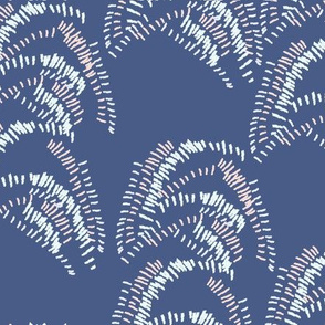Brushstroke Navy