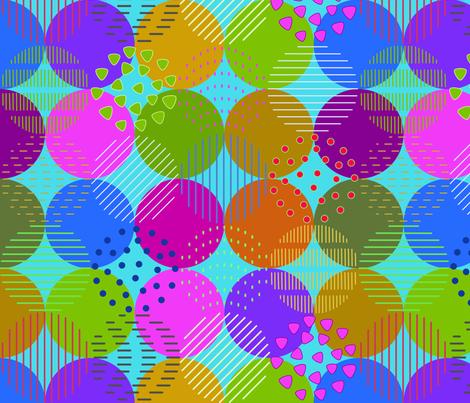 Bohemian fabric by freevam on Spoonflower - custom fabric