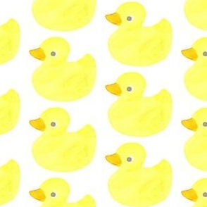 rubber ducky watercolor