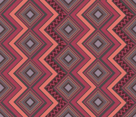 Bohemian Autumn Movement fabric by madex on Spoonflower - custom fabric
