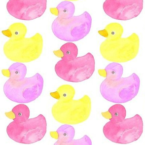 rubber ducky pink