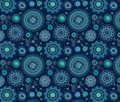 My Bohemian Design fabric by laureh on Spoonflower - custom fabric