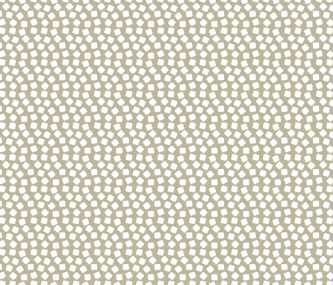 Soft Color White Marshmallows on a Putty  Taupe Background fabric by galleryinthegardendesigns on Spoonflower - custom fabric