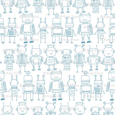 Robots - white