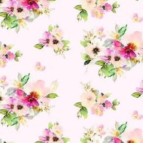 """4"""" Kalani Blooms - Blush"""