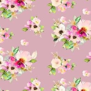 "4"" Kalani Blooms - Dusty Rose"