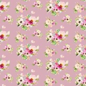 "2"" Kalani Blooms - Dusty Rose"