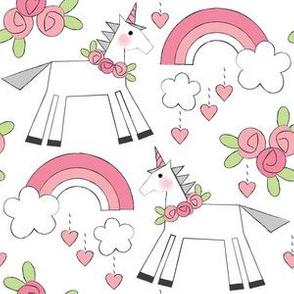 unicorns-and-roses-on-white