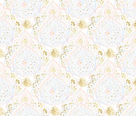 Medallion Blush Dream fabric by crystal_walen on Spoonflower - custom fabric