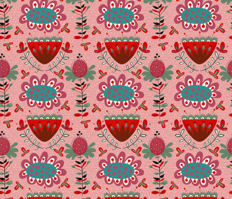 Boho_Queen fabric by bridgettstahlman on Spoonflower - custom fabric