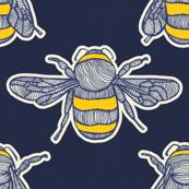 Bumblebee BUZZ Navy