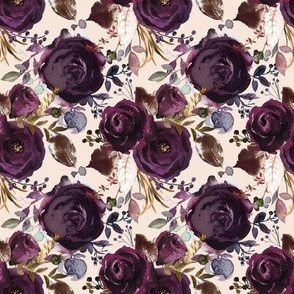 Boho Plum Roses