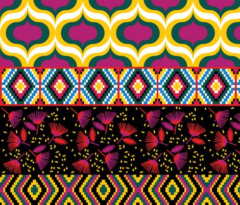 Nomad fabric by wink&smile on Spoonflower - custom fabric