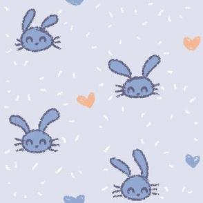 Little Rabbits Blue