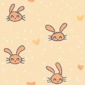 Little Rabbits Yellow