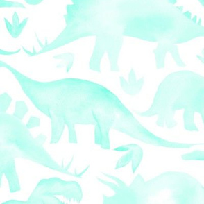 Aqua Dinoaurs  large scale