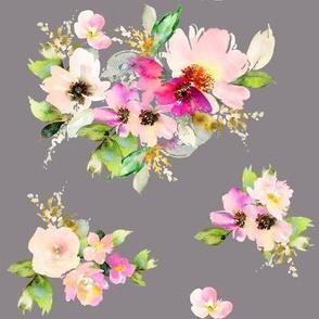 """8"""" Kalani Blooms - Tan"""