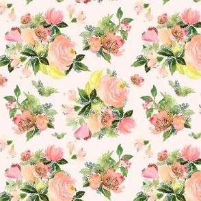 """4"""" Moonstone Blooms - Blush Pink"""