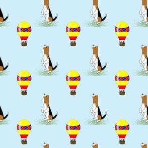 Sleepytown Beagle and Hotair Balloon